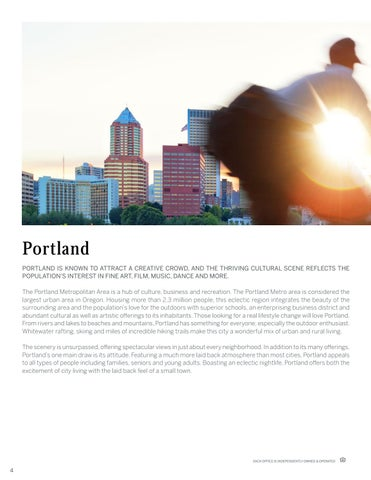 Page 4 of Portland Area Introduction