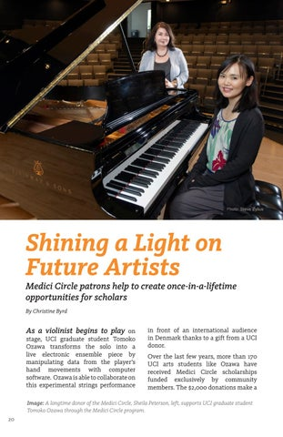Page 20 of Shining a Light on Future Artists
