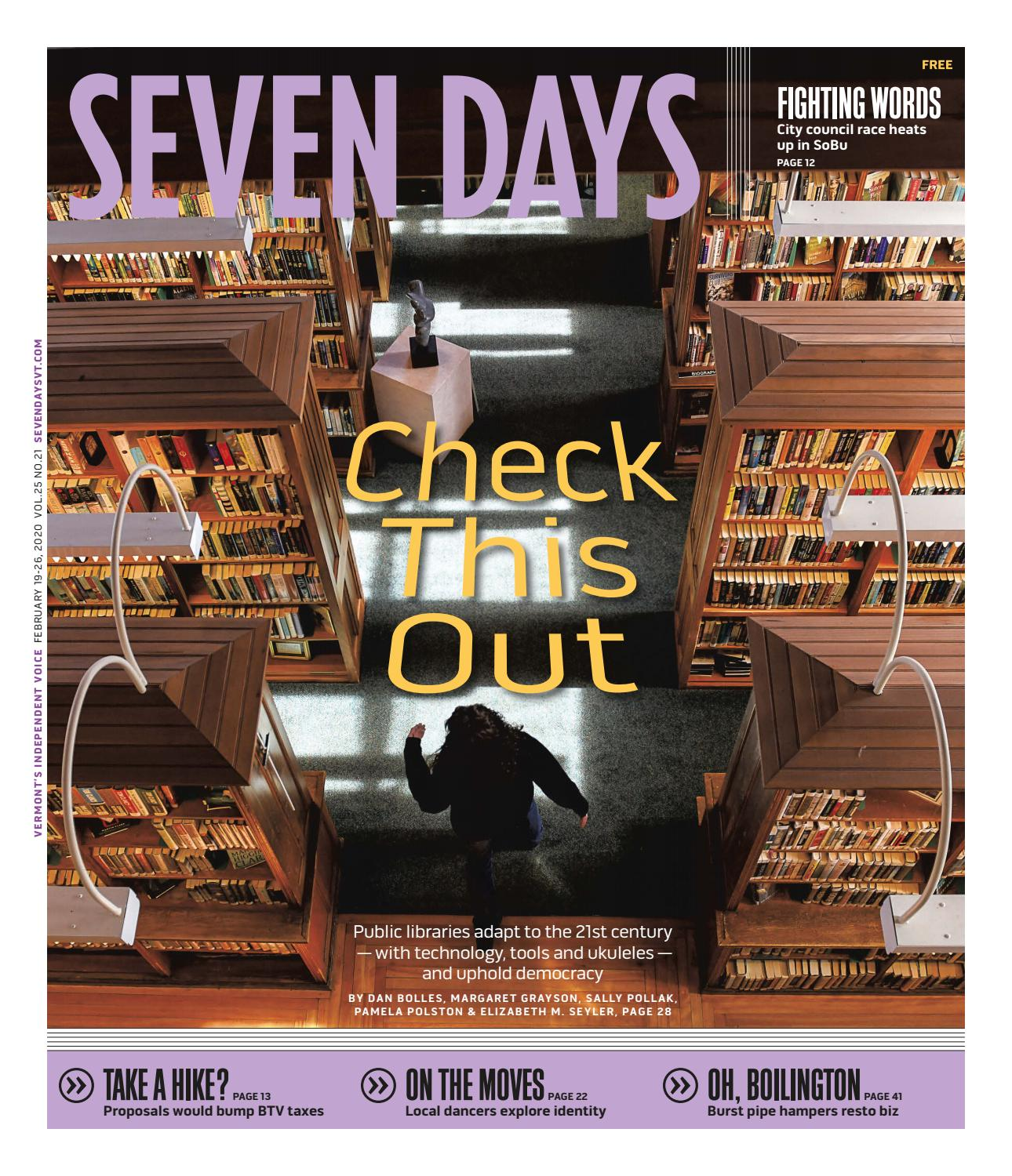 Seven Days, February 19, 2020 by Seven Days - issuu