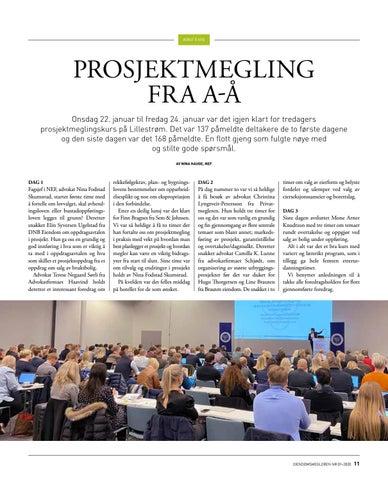 Page 11 of Prosjektmegling fra A-Å