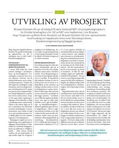 Page 12 of Utvikling av prosjekt