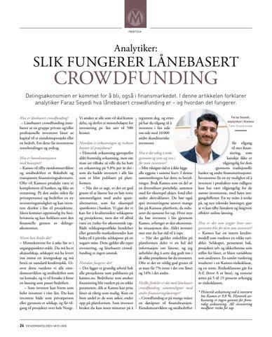 Page 24 of PropTeEch: Slik fungerer lånebasert crowdfunding