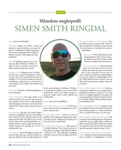 Page 28 of Månedens meglerprofil: Simen Smith Ringdal