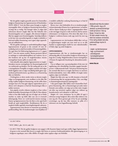 Page 33 of Avgjørelser fra domstolene og reklamasjonsnemnda