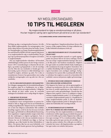 Page 34 of Ny meglerstandard: 10 tips til megleren