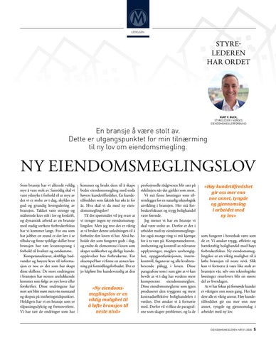Page 5 of Ny eiendomsmeglingslov