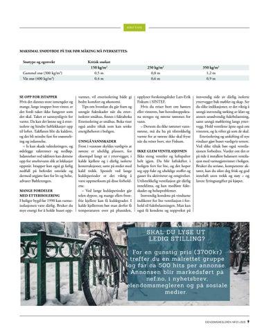 Page 9 of Unngå vinterskader på huset