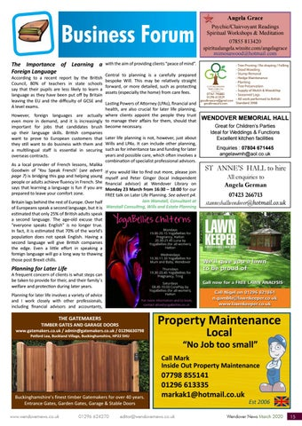 Page 15 of BUSINESS FORUM