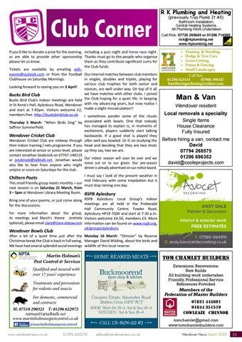 Page 25 of CLUB CORNER