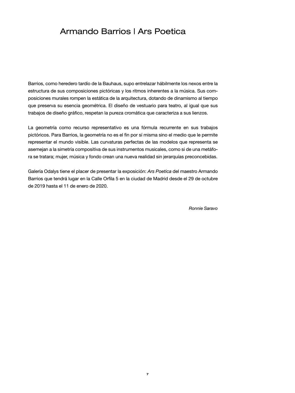 Armando Barrios Ars Poética Vebuka