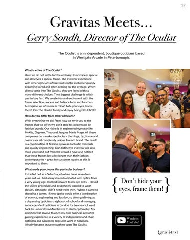 Page 27 of 29 The Oculist Interview