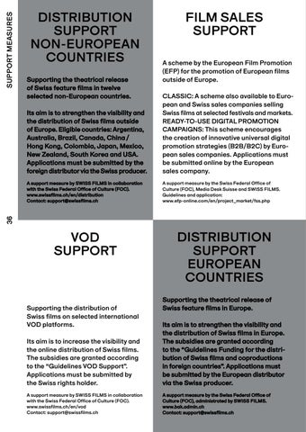 Page 38 of SUPPORT MEASURES