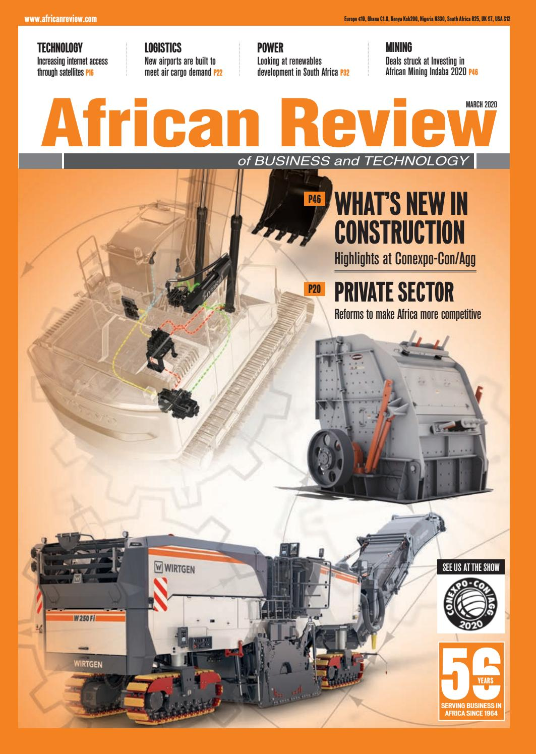 African Review Issue March 2020 By Alain Charles Publishing Issuu