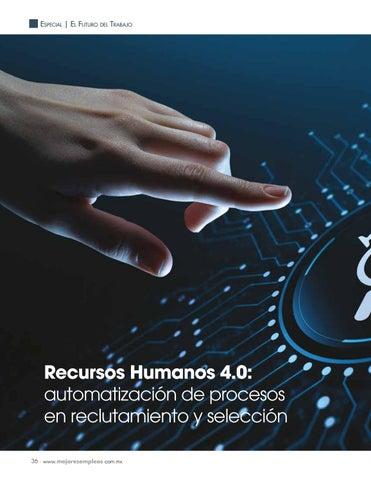 Page 38 of Recursos Humanos 4.0: automatización de procesos en reclutamiento y selección