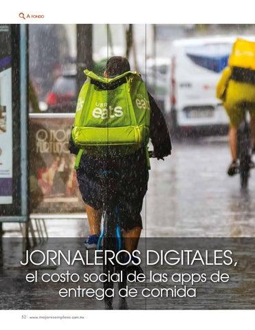 Page 54 of Jornaleros digitales, el costo social de las apps de entrega de comida