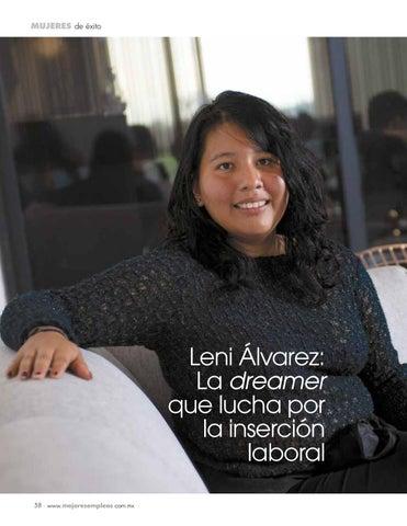 Page 60 of Leni Álvarez: La dreamer que lucha por la inserción laboral