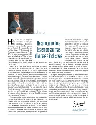 Page 7 of Reconocimiento a las empresas más diversas e inclusivas