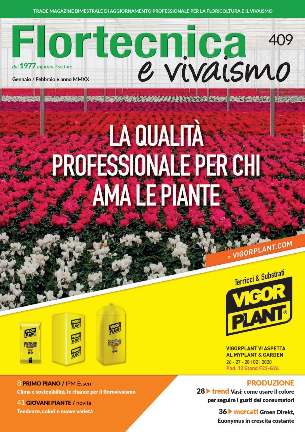 Flortecnica E Vivaismo N 409 By Edizioni Laboratorio Verde Issuu
