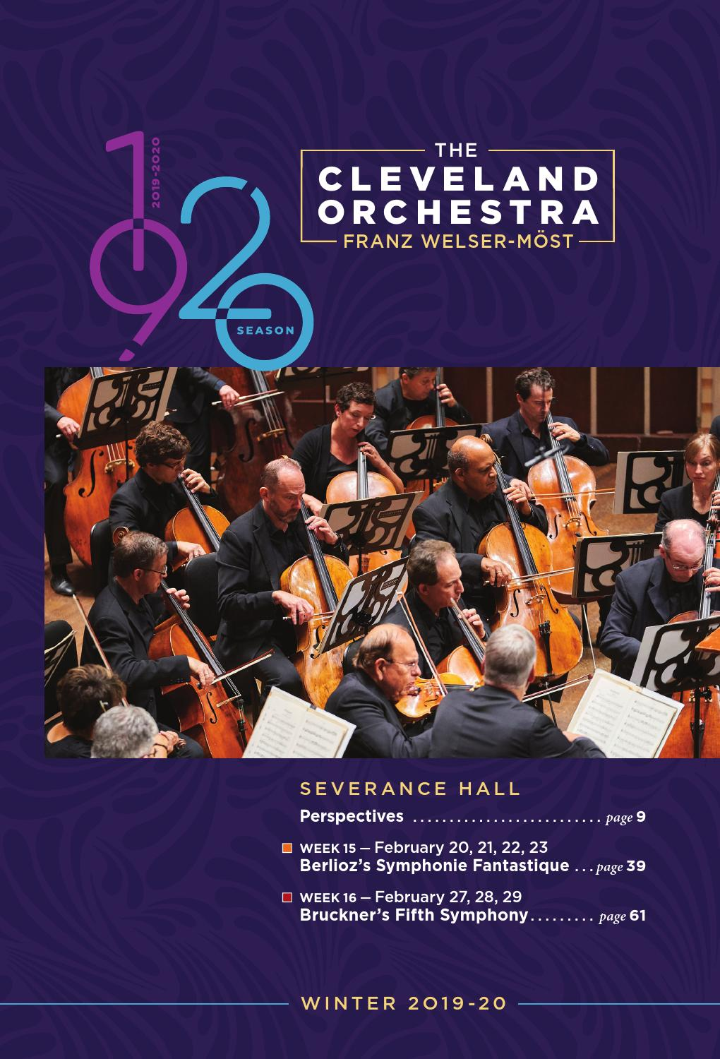 foto de The Cleveland Orchestra February 20-23, 27-29 Concerts by Live ...