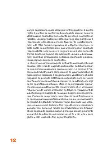 Page 12 of Sortir de la crise: vie saine et réforme de soi