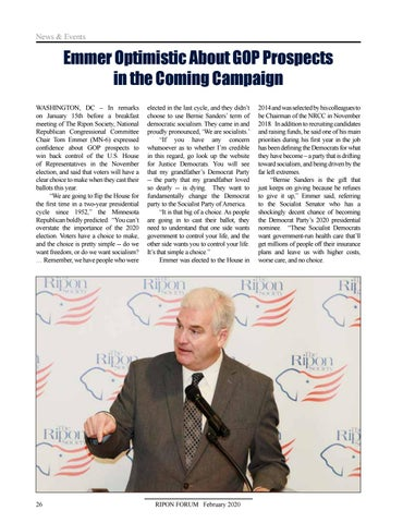Page 28 of News & Events - coverage of recent breakfast