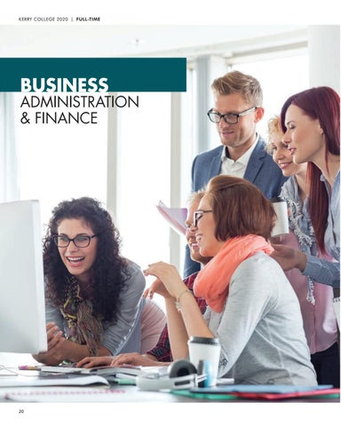 Page 20 of Business, Administration & Finance