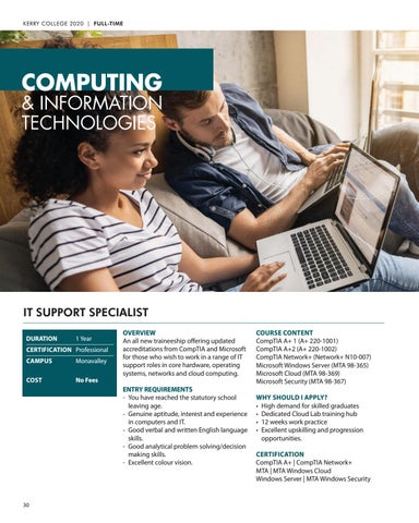 Page 30 of Computing and Information Technologies