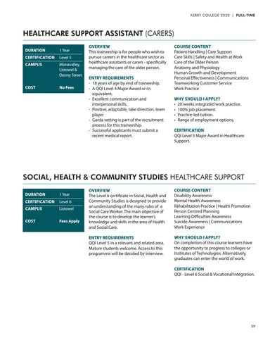 Page 59 of Healthcare and Social Sciences