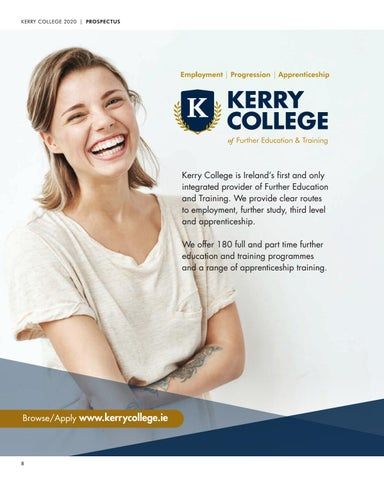Page 8 of About Kerry College