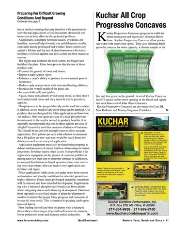 Page 11 of Kuchar All Crop Progressive Concaves