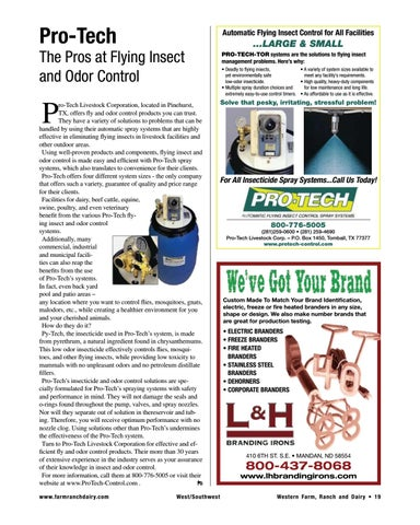 Page 19 of The Pros at Flying Insect and Odor Control