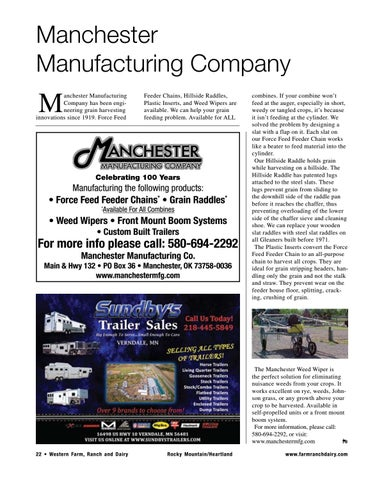 Page 22 of Manchester Manufacturing Company