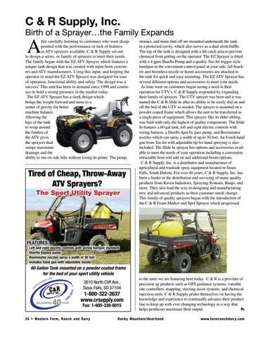 Page 24 of Birth of a Sprayer…the Family Expands