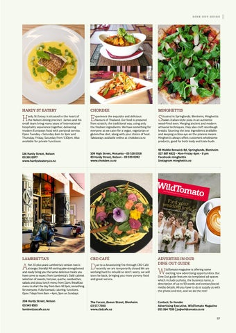 Page 57 of Dine Out Guide