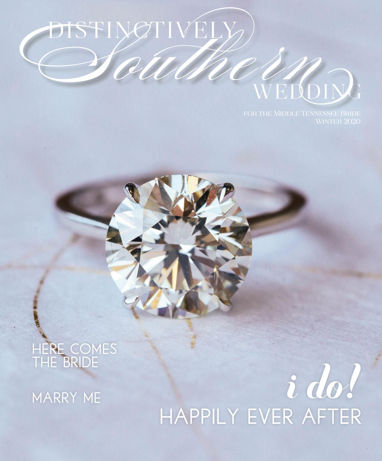 Distinctively Southern Wedding Winter 2020 Issue By Robertson