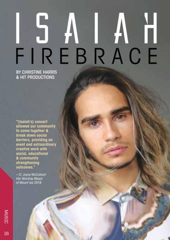 Page 16 of Isaiah Firebrace – 'You & I' concert Saturday 11 July