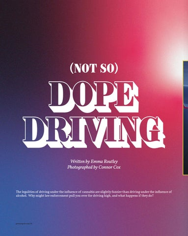 Page 18 of Not So) Dope Driving Laws on driving high