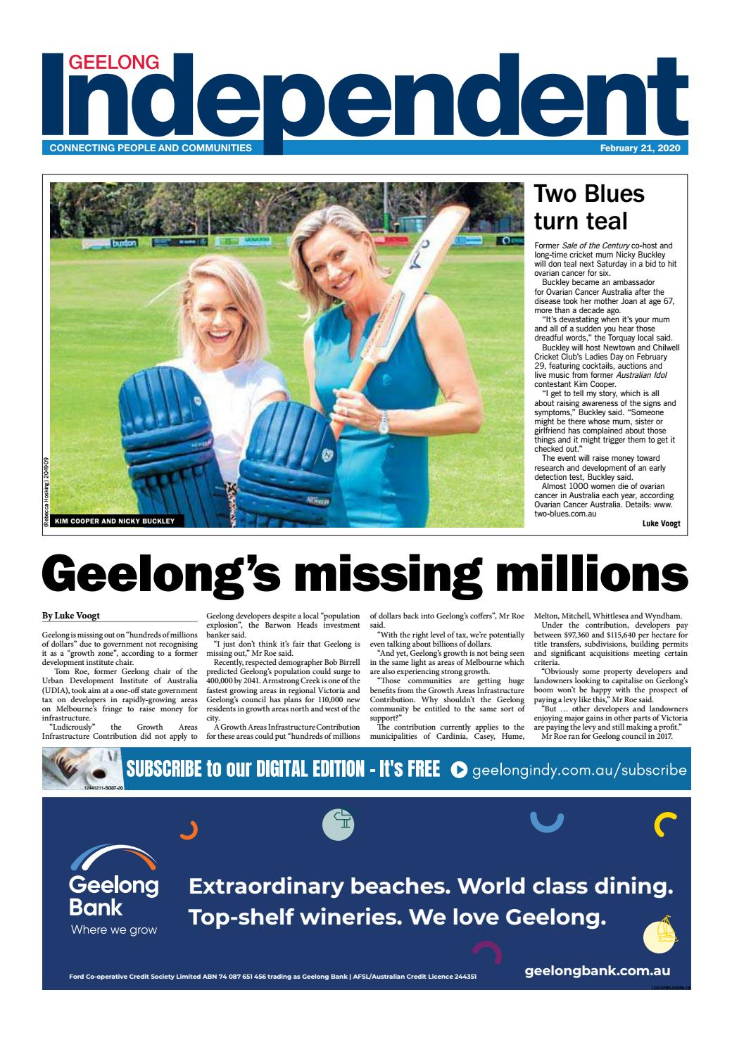Geelong Indy 21st February 2020 By Star News Group Issuu