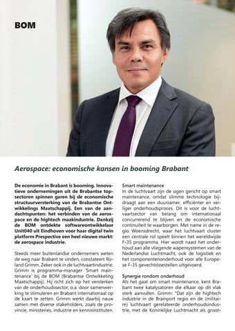 Page 22 of Aerospace: economische kansen in booming Brabant
