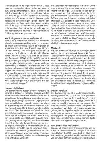 Page 23 of Aerospace: economische kansen in booming Brabant