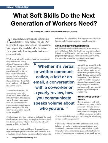 Page 28 of SOFT SKILLS FOR THE NEW WORKFORCE