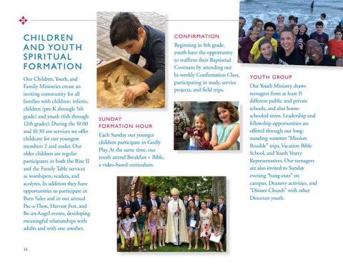 Page 14 of CHILDREN AND YOUTH SPIRITUAL FORMATION