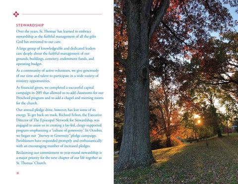 Page 18 of TRANSITION: OUR TIME TO LEARN AND GROW