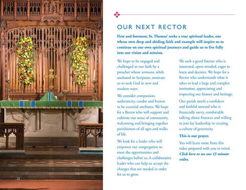 Page 22 of OUR NEXT RECTOR