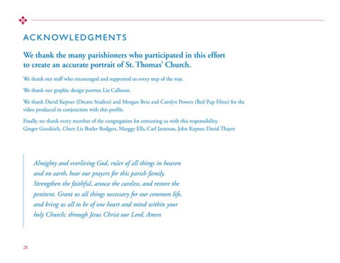 Page 28 of ACKNOWLEDGMENTS
