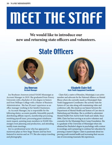 Page 10 of MEET THE STAFF