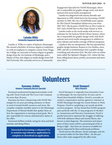 Page 11 of MEET THE STAFF