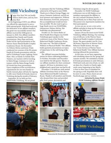 Page 5 of NAMI Vicksburg Update