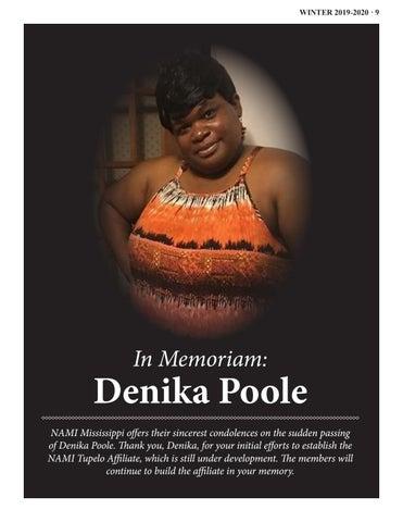 Page 9 of In Memoriam: Denika Poole