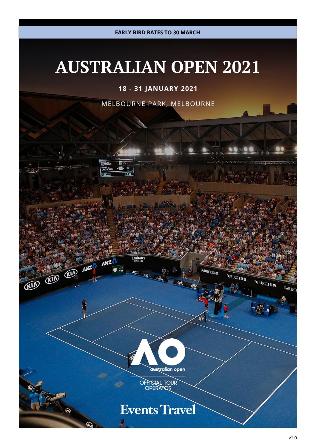 Aus Open 2021